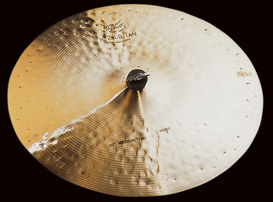 ZildjianK Zildjian CONSTANTINOPLE MEDIUM THIN RIDE, HIGHの画像