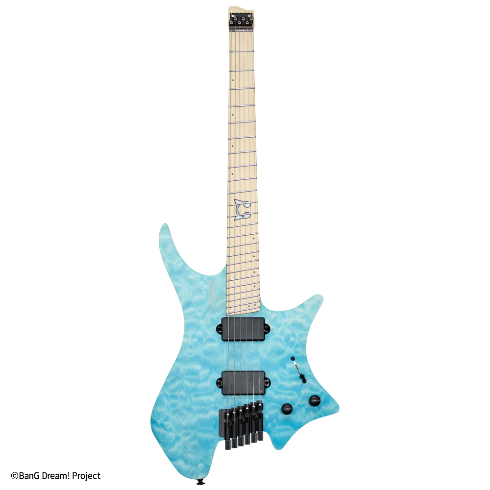Strandberg Borden RAS6 BanG Dream! RAISE A SUILEN コラボレーションモデル入荷